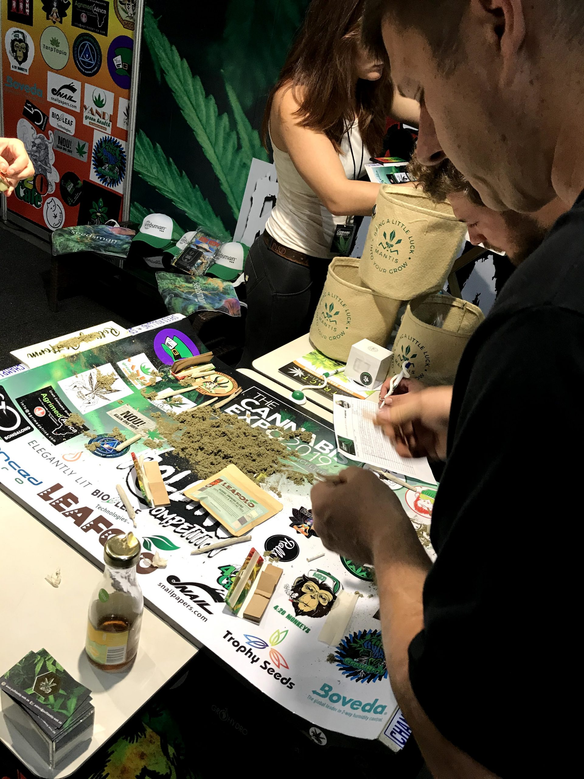 Photo taken by leaf.ng(Leafing with cannabis) at 2019 Cannabis Expo in South Africa